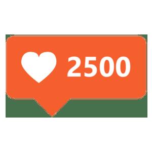 2500-likes
