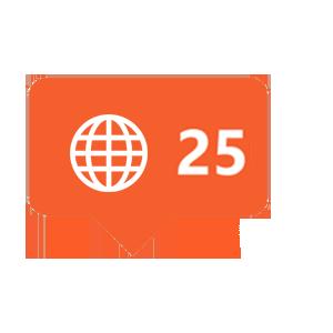 25-reaches