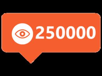 250000-views