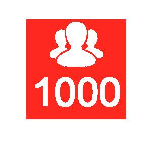 1000-followers