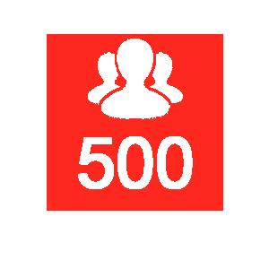 500-followers
